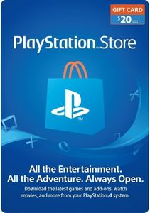 Playstation Network 20 Psn Card Us Store
