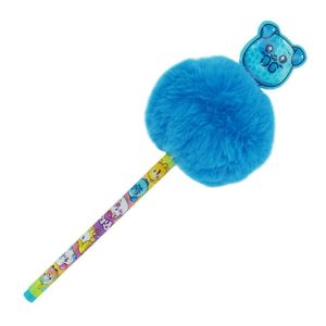 Ballpen With Pom Pom And Pvc Patch Tub