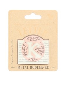 If Literary Letter K Bookmark
