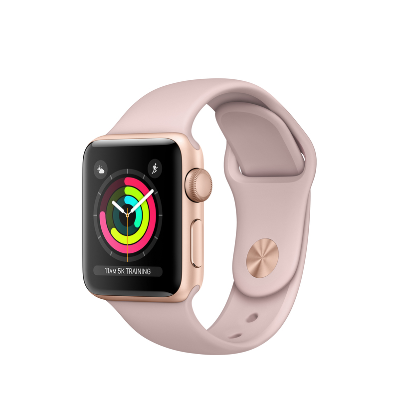 sneakers for cheap a2afd b4679 Apple Watch Series 3 42mm Space Grey Aluminum Case With Black Sport Band