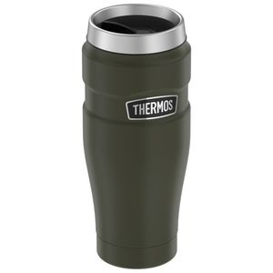 Insulated mug Stainless King grey