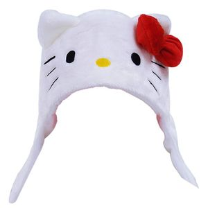 Hello kitty white kigurumi cap