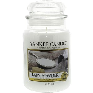 Yankee Candles Baby Powder Classic Large Jar Candle