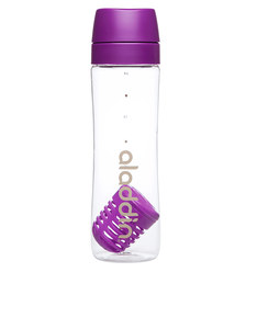 Aladdin Infuse Water Bottle Purple 700ml