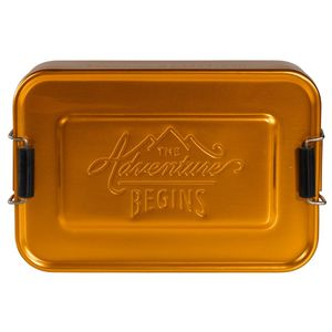 Gentlemen's Hardware Gold Aluminium Lunch Tin