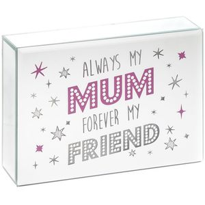 Sentiments led plaque mum