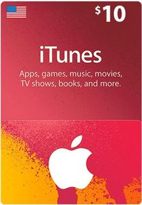 Itunes Giftcard 10 Us Store