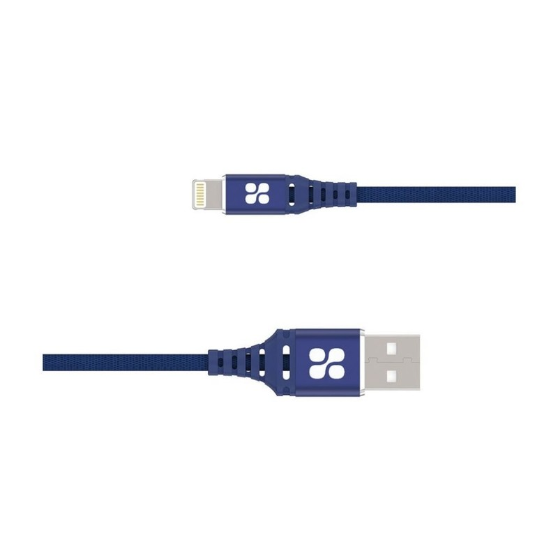 Promate Ultra Slim with Lightning 1 2Meter Cable Blue