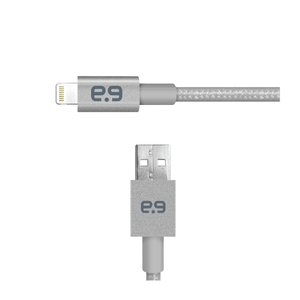 Puregear Usb 2.0 Space Grey Lightning Cable 1.2M