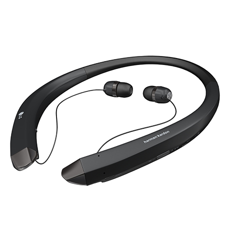 LG HBS-910 Neck-band Binaural Wireless Black mobile headset