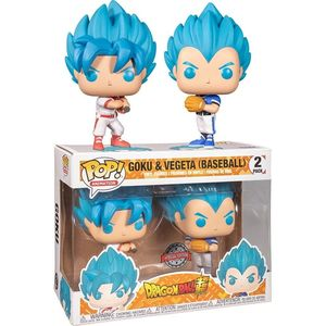 Pop Animation Dbs Goku & Vegeta Baseball 2Pk Exc