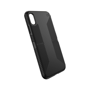 Speck Presidio Grip Case Black/Black for iPhone XS Max