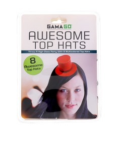 Gamago Top Hat Party Hats