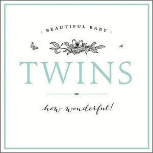 Twins Double Congratulations New
