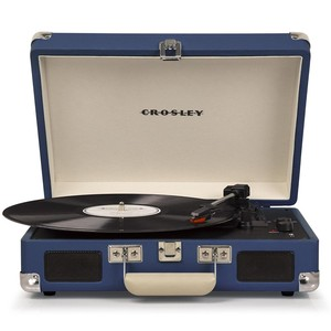 Crosley Cruiser Deluxe Turntable Blue