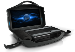 Gaems G190 Vanguard 19In Black Personal Gaming Enviroment