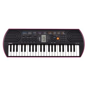 Casio Sa-78 Midi Keyboard 44 Keys Black
