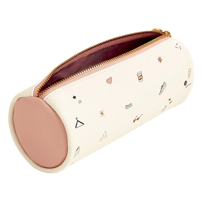 Kikki.K Leather Tube Pencil Case Your Story