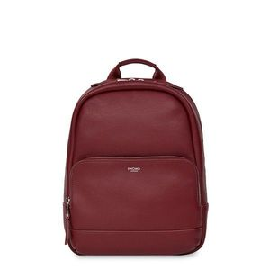 Knomo Mini Mount Backpack Faux Leather Burgundy