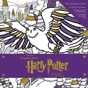 Harry Potter  Winter At Hogwarts  A Magical Colouring Set  J.K. Rowling'S Wizarding World
