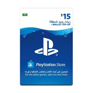 Playstation Network Topup Wallet 15 Usd [Digital Code]