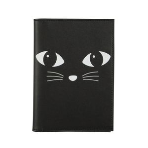 Black Cat Passport Holder