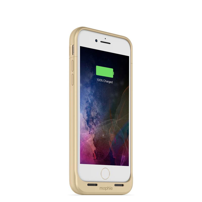 official photos 1b54d 00b0a Mophie Juice Pack Air 2750mAh Battery Case Gold iPhone 8/7
