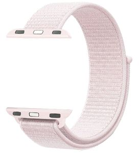 Promate Nylon Mesh Strap For 42Mm Applewatch L Pink