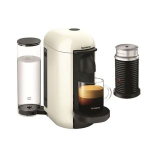 Nespresso Vertuo Plus Coffee Machine White And Aeroccino3