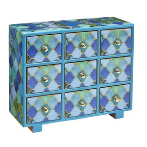 Asilah Nine Drawer Chest