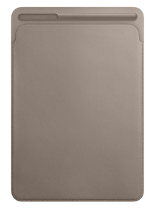 Apple Leather Sleeve Taupe For iPad Pro 10.5-Inch