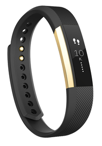 Fitbit Alta Gold/Black Small Activity Tracker