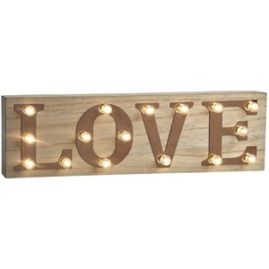 Retro Illuminated Love Sign