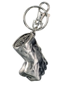 Hulk Fist Pewter Key Ring