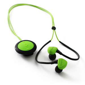 Boompods sportpods race mobile headset Binaural Ear-hook,In-ear Green