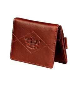 Double Card Holder Wallet Leather