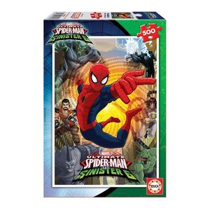 500 Spider-Man Vs Sinister 6 Puzzle