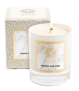 Scented Classic Candle Mango & Oud