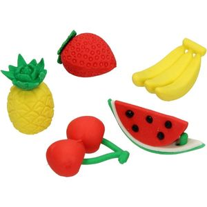 Fruit Set Erasers