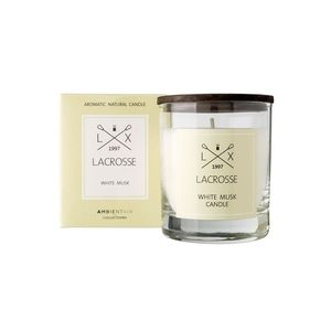 40 Hour Round Scented Candle White Musk