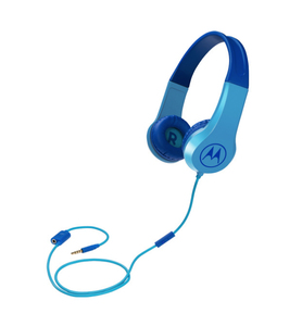 Motorola Squads 200 mobile headset Binaural Head-band Blue