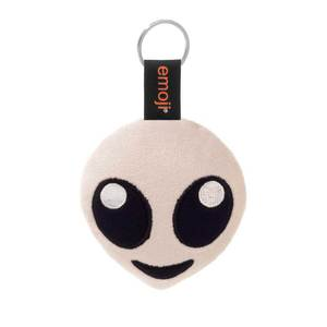 Emoji Alien Official Grey Keychain