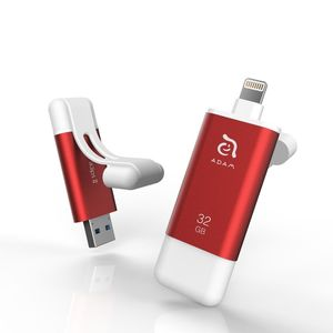 Adam Elements iKlips II 32GB Red Mobile Data Storage