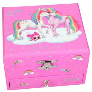 Y M Unicorn Music Box