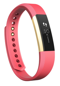 Fitbit Alta Gold/Pink Small Activity Tracker