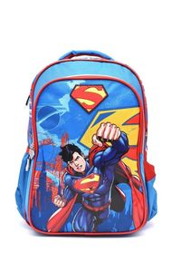 Superman Backpack 2 Main Compartments And 2 Side Pockets 18