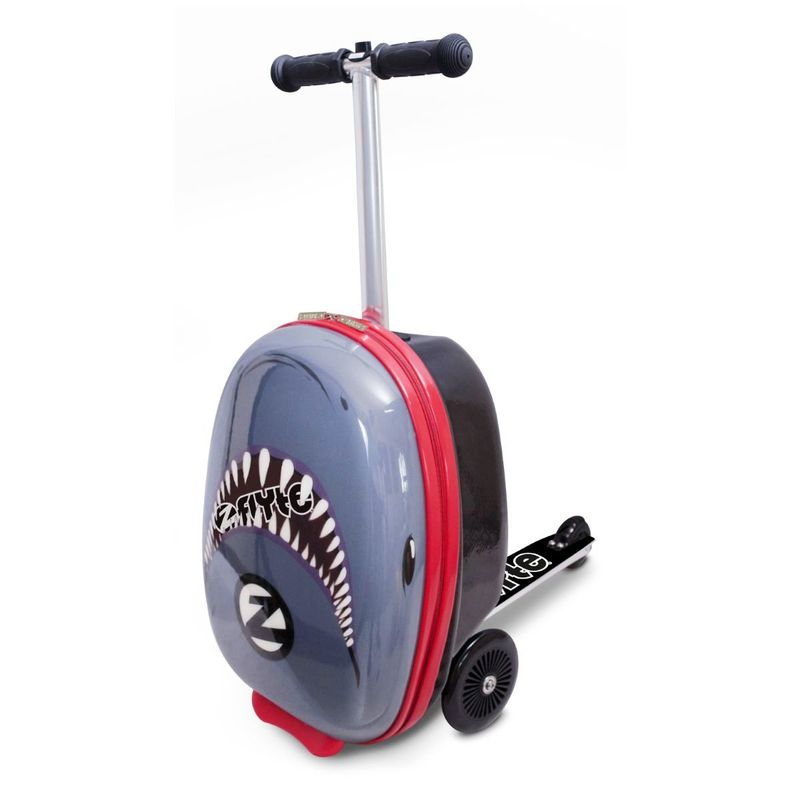 Zinc Flyte Snapper The Shark Scooter Grey/Black