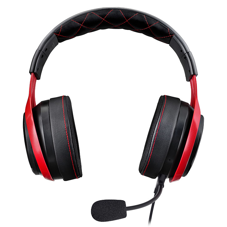 LucidSound LS25 eSports Binaural Head-band Black,Red