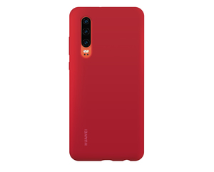 Huawei Silicone Case P30 Red
