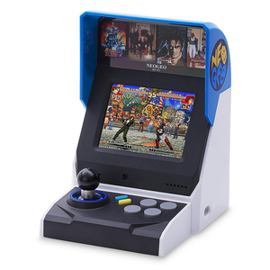 "Snk Corporation Neogeo Mini Portable Game Console Black,Blue,Silver 8.89 Cm (3.5"")"
